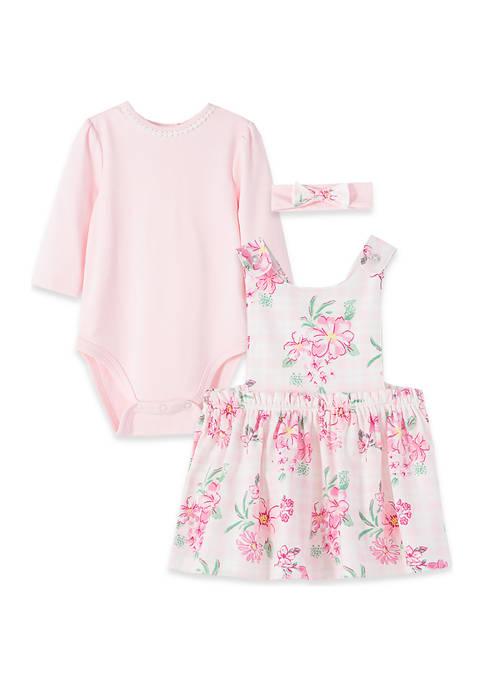 Baby Girls Wildflower Jumper 3 Piece Set