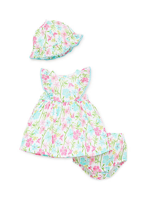 Little Me Baby Girls Paradise Dress Set