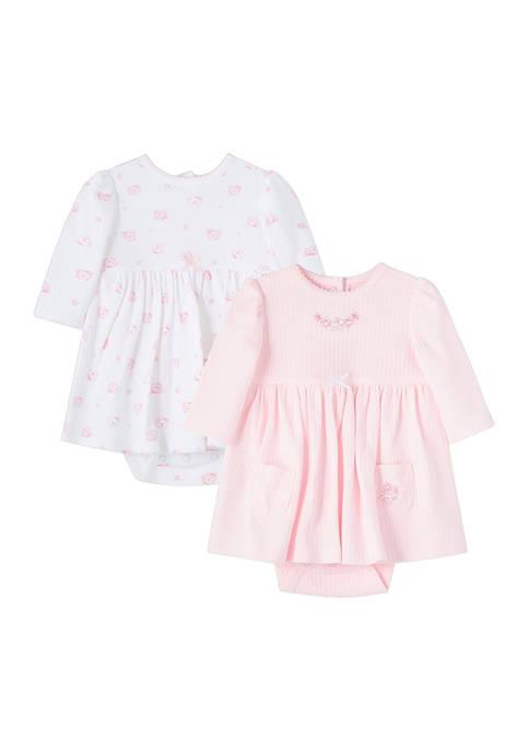 Baby Girls Bears Bodysuit Dress Set