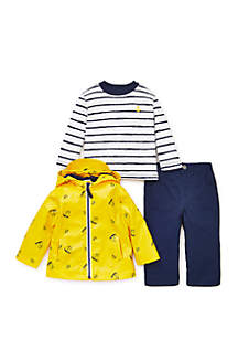 Baby Boys Sailboat Jacket Set
