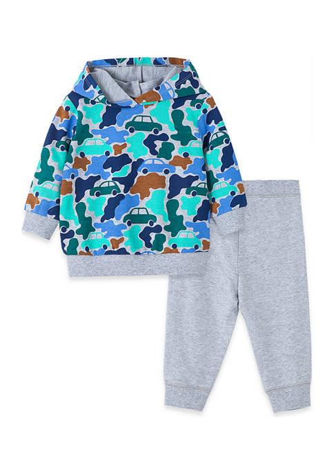 Little Me Baby Boys Camo 2-Piece Sweatshirt Set