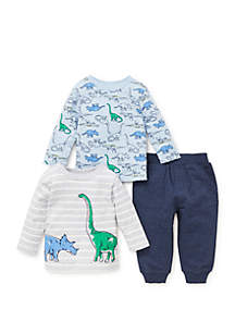 Baby Boys Dino 3-Piece Play Set