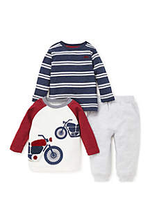 Baby Boys Motorcycle 3-Piece Play Set