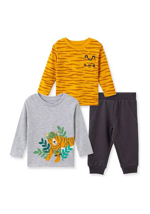 Baby Boys Tiger 3-Piece Play Set