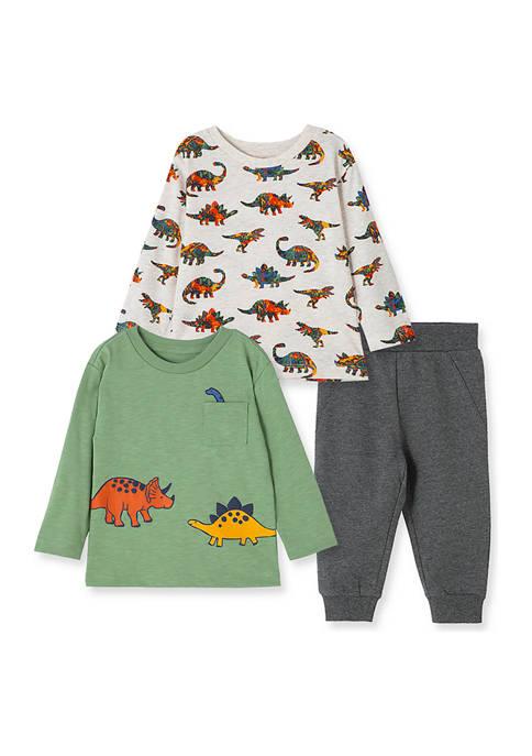 Baby Boys Dinos 3-Piece Play Set