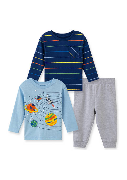Baby Boys Space 3 Piece Play Set