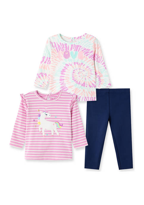 Baby Girls Unicorn 3-Piece Play Set