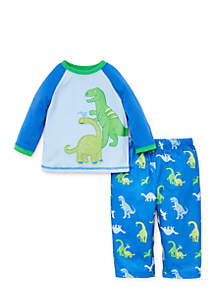 Toddler Boys Dino Pajama Set