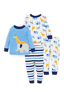 Toddler Boys Safari Pajama Set