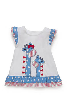 Nursery Rhyme® Babydoll Giraffe Top