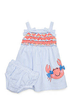 Nursery Rhyme® 2-Piece Crab Dress Set