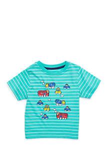 Infant Boys Short Sleeve Car Tee