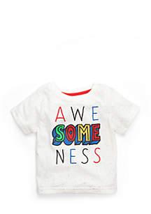 Infant Boys Short Sleeve Awesomeness Tee