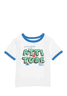 Nursery Rhyme Infant Boys Short Sleeve Atude Tee