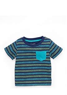 Infant Boys Short Sleeve Pocket Tee