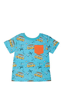 Short Sleeve Pocket Tee Infant Boys