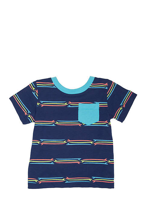 Nursery Rhyme® Short Sleeve Pocket Tee Infant Boys
