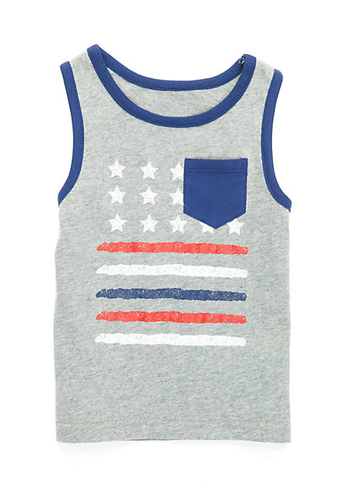 Nursery Rhyme® Boys Infant Pocket Tank