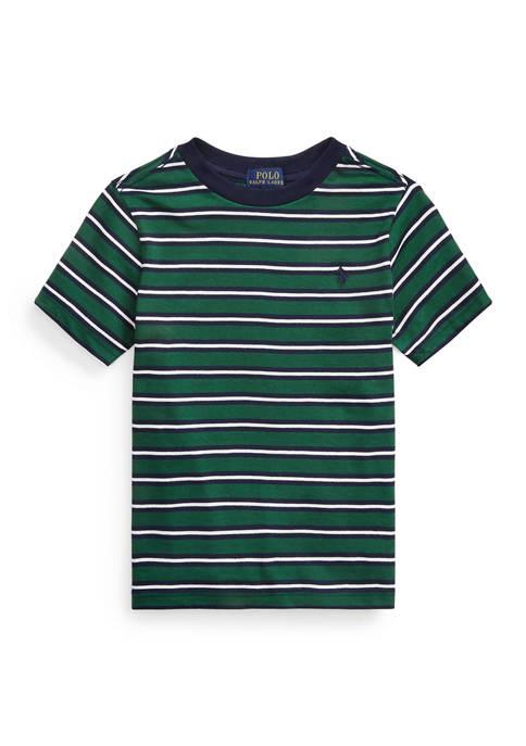 Toddler Boys Stripe Cotton Jersey Tee
