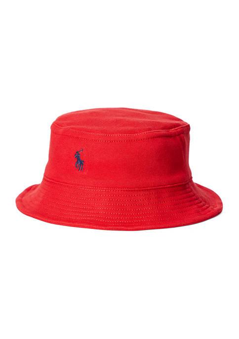 Ralph Lauren Childrenswear Interlock Bucket Hat