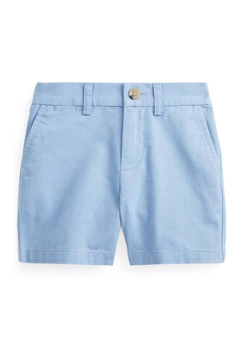 Ralph Lauren Childrenswear Baby Boys Stretch Chino Shorts