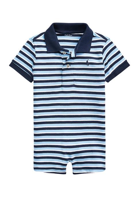Ralph Lauren Childrenswear Baby Boys Bear Print Interlock
