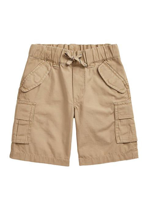 Toddler Boys Cotton Ripstop Cargo Shorts