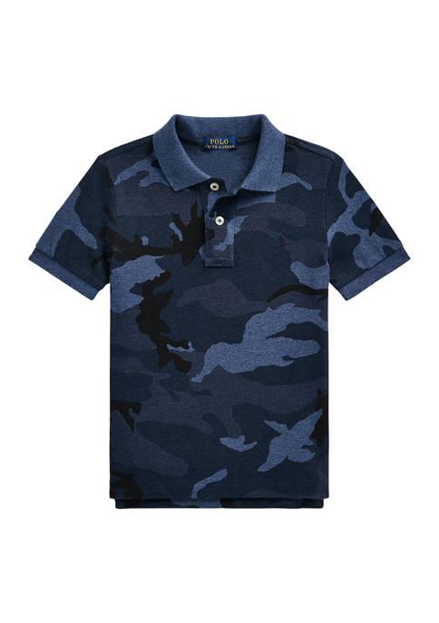 Ralph Lauren Childrenswear Toddler Boys Camouflage Cotton Mesh