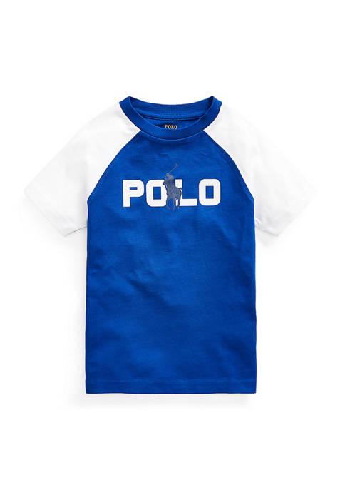 Toddler Boys Print Changing Cotton Jersey T-Shirt