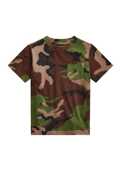Ralph Lauren Childrenswear Toddler Boys Camouflage Cotton Jersey