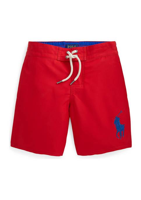 Ralph Lauren Childrenswear Toddler Boys Big Pony Swim
