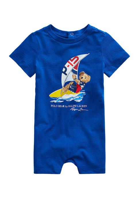Ralph Lauren Childrenswear Baby Boys Polo Bear Cotton