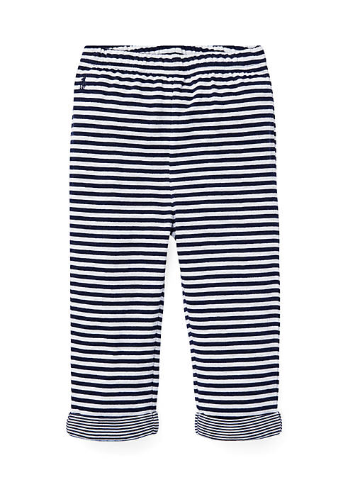 Ralph Lauren Childrenswear Infant Boys Striped Jacquard Pull-On