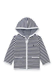Infant Boys Reversible Cotton Hoodie