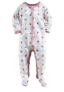 Bear Printed Coverall