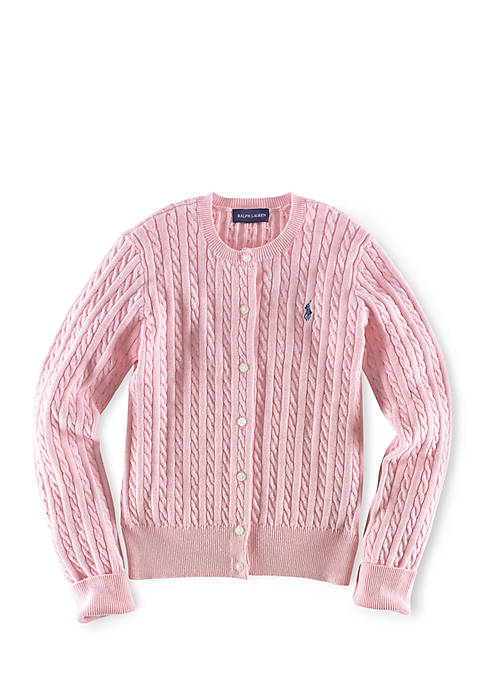 Ralph Lauren Childrenswear Long Sleeve Button-Up Cardigan