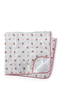 Reversible Printed Receiving Blanket