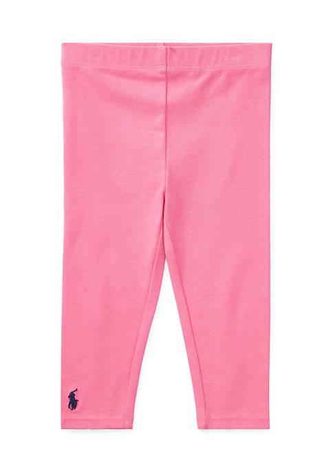 Ralph Lauren Childrenswear Stretch Cotton Legging