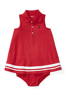 Ralph Lauren Childrenswear 2-Piece Nautical Dress and Bloomers Set