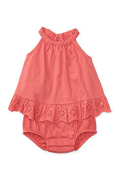 Ralph Lauren Childrenswear Bubble Romper