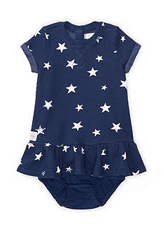 Ralph Lauren Childrenswear Star-Print Dress & Bloomer