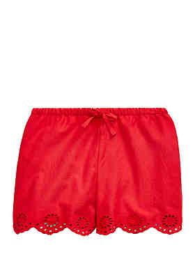 d15438657 Ralph Lauren Childrenswear Baby Girls Eyelet Cotton Short ...