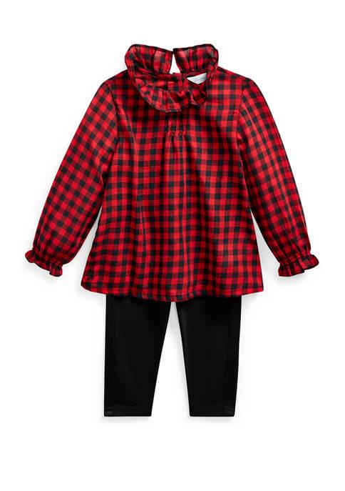 Ralph Lauren Childrenswear Baby Girls Holiday Legging Set