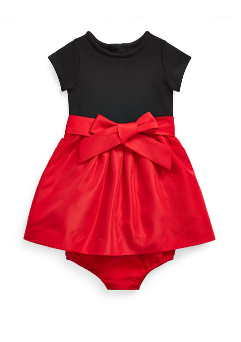 Ralph Lauren Childrenswear Baby Girls Combo Dress &