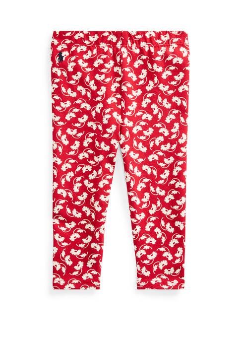 Ralph Lauren Childrenswear Baby Girls Floral Jersey Legging