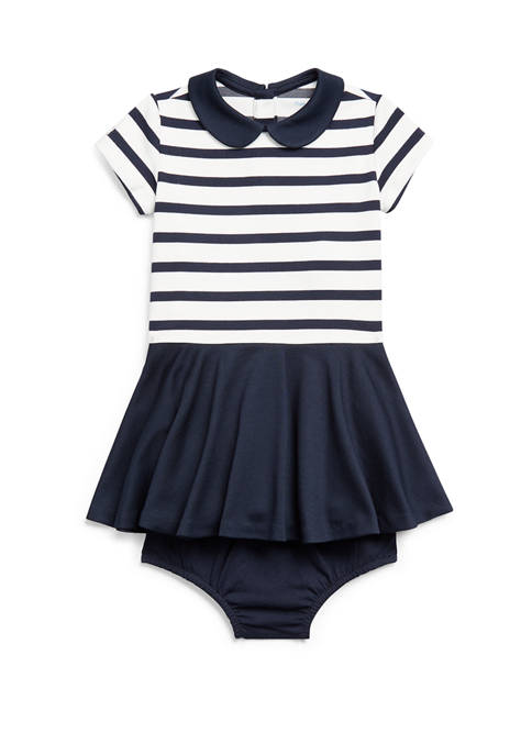Ralph Lauren Childrenswear Baby Girls Two Tone Ponte