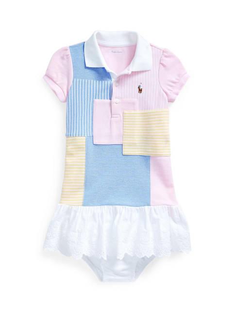 Ralph Lauren Childrenswear Baby Girls Patchwork Dress &
