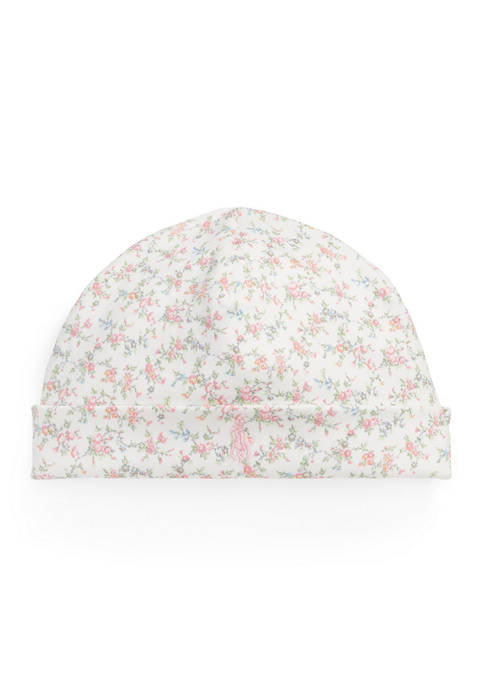 Baby Girls Floral Cotton Hat