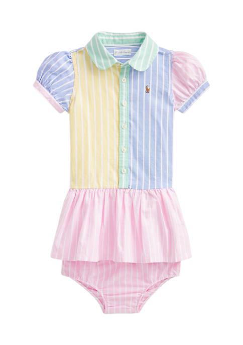 Ralph Lauren Childrenswear Baby Girls Fun Shirtdress &