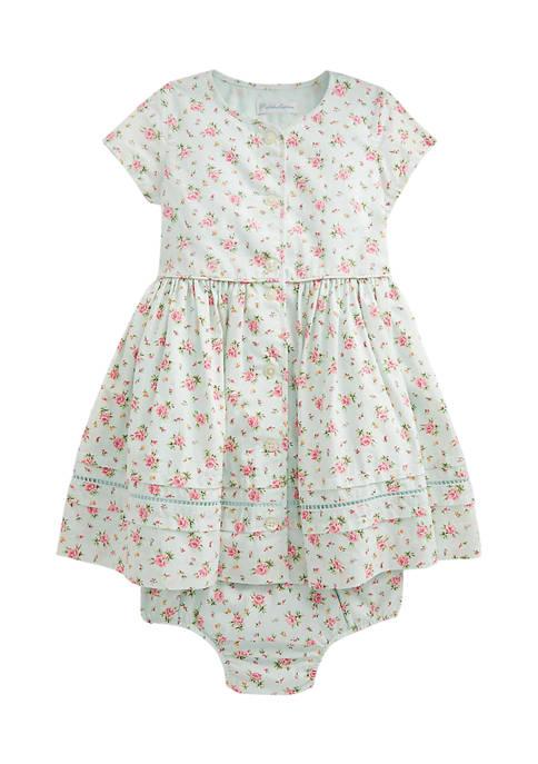 Ralph Lauren Childrenswear Baby Girls Floral Dress &
